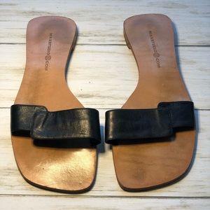 Max Studio Leather Sandals